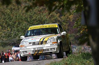 Zandonà Damiano,Stoppa Simone(Renault R5 GT Turbo,Team Bassano,#125), CAMPIONATO ITALIANO RALLY AUTO STORICHE