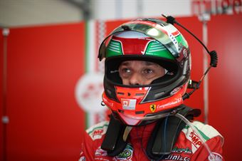 Giancarlo Fisichella (Scuderia Baldini 27,Ferrari 488 GT3 #27) , CAMPIONATO ITALIANO GRAN TURISMO