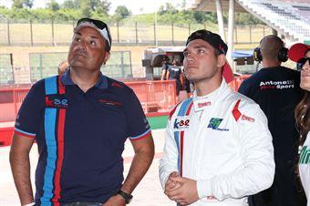 Kikko Galbiati (Antonelli Motorsport,Lamborghini Huracan S.GTCup #103) , CAMPIONATO ITALIANO GRAN TURISMO