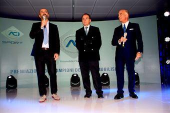 Giuseppe Redaelli, Presidente SIAS Monza, Ivan Capelli Presidente ACI Milano, Angelo Sticchi Damiani Presidente ACI, TCR DSG ENDURANCE