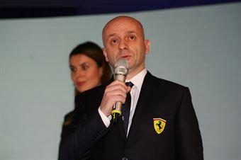 Simone Resta Chief Designer, Ferrari, TCR DSG ENDURANCE