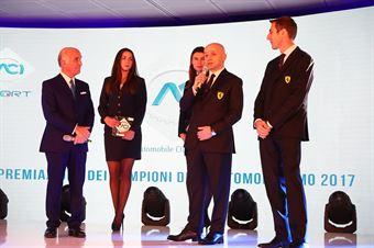 Simone Resta Chief Designer, Matteo Togninalli Responsabile Ingegneri in Pista, Ferrari, TCR DSG ENDURANCE