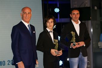 Roberto Toninelli, Team Manager Baby Race, ritira per Leonardo Lorandi Premio Gino Macaluso, CAMPIONATO ITALIANO TURISMO TCS