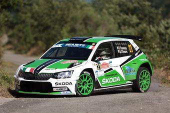 Umberto Scandola, Guido DAmore (Skoda Fabia R5 #21, SA Motorsport), CAMPIONATO ITALIANO RALLY