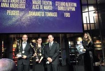 Premiazioni Volanti ACI e Caschi d'Oro 2018   Mauro Trentin, Alice De Marco Vincitori CIRT, CAMPIONATO ITALIANO RALLY TERRA