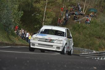 Luca Bellia (Motor Team Nisseno, Peugeot 205 R #115), CAMPIONATO ITALIANO VELOCITÀ MONTAGNA