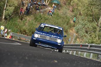 Emanuele Smiroldo, VW Golf GTI #106), CAMPIONATO ITALIANO VELOCITÀ MONTAGNA