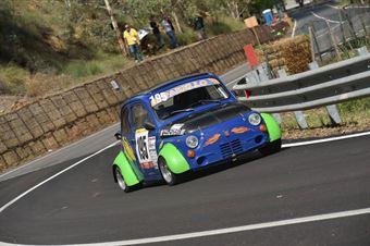 Luigi Parrello (FR Motorsport, Fiat 500 #195), CAMPIONATO ITALIANO VELOCITÀ MONTAGNA
