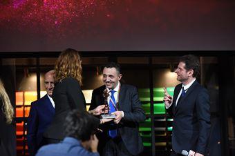 Premiazioni Volanti ACI e Caschi d'Oro 2018   Christian Merli Vincitore Casco d'Oro Tricolore/Argento, CAMPIONATO ITALIANO VELOCITÀ MONTAGNA