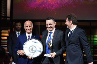 Premiazioni Volanti ACI e Caschi d'Oro 2018   Christian Merli  Volante d'Argento, CAMPIONATO ITALIANO VELOCITÀ MONTAGNA