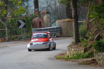 Tilotta Francesco ( Fiat 500, Real Cefalù #59), CAMPIONATO ITALIANO VEL. SALITA AUTO STORICHE