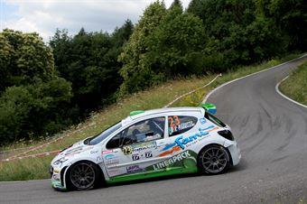 Gianpaolo Bizzotto, Sandra Tommasini (Peugeot 207 S2000 #23, La Superba), CAMPIONATO ITALIANO WRC