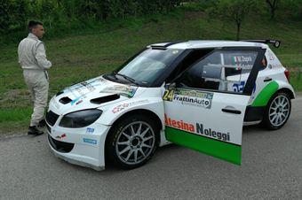 Matteo Daprà, Fabio Andrian (Skoda Fabia S2000 #24, Car Racing), CAMPIONATO ITALIANO WRC