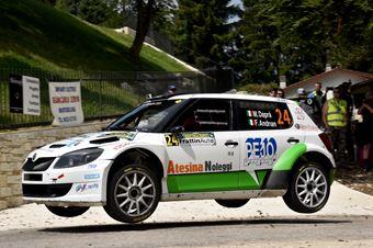 Matteo Dapra, Fabio Andrian (Skoda Fabia S2000 #24, Car Racing), CAMPIONATO ITALIANO WRC