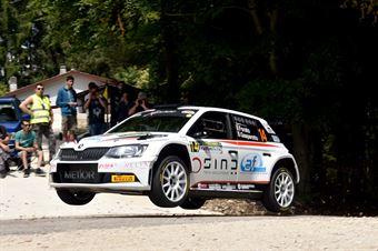 Antonio Forato, Ivan Gasparotto (Skoda Fabia R5 #14, XMotors ASD), CAMPIONATO ITALIANO WRC