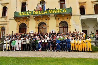 Foto di gruppo, CAMPIONATO ITALIANO WRC