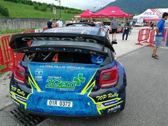 Simone Miele, Lisa Bollito (Citroen DS3 WRC #4, Top Rally), CAMPIONATO ITALIANO WRC