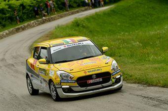 Stefano Martinelli, Massimiliano Bosi (Suziki Swift R1 #93, GRMotorsport), CAMPIONATO ITALIANO WRC