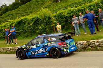 Simone Miele, Lisa Bollito (Citroen C3 WRC #4, Top Rally), CAMPIONATO ITALIANO WRC