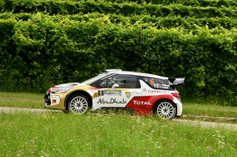 Luca Pedersoli, Anna Tomasi (Citroen C3 WRC #6), CAMPIONATO ITALIANO WRC