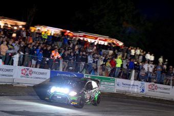 Paolo Porro, Paolo Cargnelutti (Ford Fiesta WRC #2, Bluthunder), CAMPIONATO ITALIANO WRC