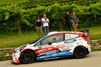 Manuel Sossella, Gabriele Falzone (Ford Fiesta WRC #7, Scuderia Palladio), CAMPIONATO ITALIANO WRC