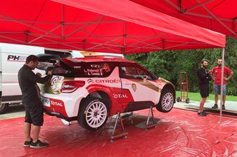 Luca Pedersoli, Anna Tomasi (Citroen DS3 WRC #6), CAMPIONATO ITALIANO WRC