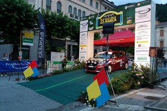 Nicolas Parolaro, Jasmine Manfredi ( Suzuki Swift R2B, #85 Winners Rally Team), CAMPIONATO ITALIANO WRC