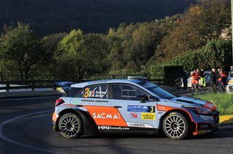 Corrado Fontana; Nicola Arena (Hyundai i20 WRC #3; Bluthunder), CAMPIONATO ITALIANO WRC