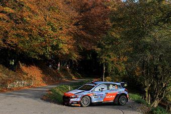 Corrado Fontana, Nicola Arena (Hyundai i20 WRC #3, Bluthunder), CAMPIONATO ITALIANO WRC