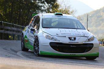 Stefano Liburdi, Andrea Colapietro (Peugeot 207 S2000 #24, Motorgroup), CAMPIONATO ITALIANO WRC