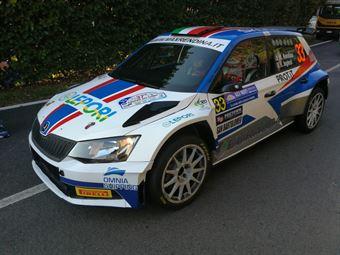 Max Rendina, Emanuele Inglesi (Skoda Fabia R5, #33 Motorsport Italia), CAMPIONATO ITALIANO WRC