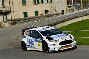 Felice Re, Mara Bariani (Ford Fiesta WRC #10, Etruria), CAMPIONATO ITALIANO WRC