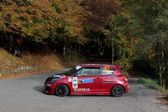 Nicola Schileo, Gianguido Furnari (Suzuki Swift #57), CAMPIONATO ITALIANO WRC