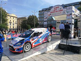 Start 37 Rally Trofeo Aci Como, CAMPIONATO ITALIANO WRC
