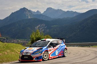 Stefano Albertini, Danilo Fappani (Ford Fiesta WRC #1, Mirabella Mille Miglia) , CAMPIONATO ITALIANO WRC