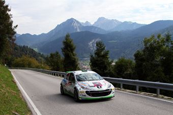 Giampaolo Bizzotto, Sandra Tommasini (Peugeot 207 S2000 #22, La Superba), CAMPIONATO ITALIANO WRC