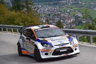 Alessandro Bruschetta, Marco Zortea (Ford Fiesta Wrc #8, Scuderia Motor Group), CAMPIONATO ITALIANO WRC