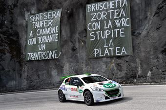Andrea Carella, Enrico Bracchi (Peugeot 208 T16 R5 #14, Power Car Team), CAMPIONATO ITALIANO WRC