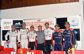 Conferenza stampa Rally San Martino di Castrozza, CAMPIONATO ITALIANO WRC