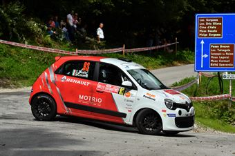 Stefano Cosetti, Elisa Tassile (Renault Twingo R1A #93) , CAMPIONATO ITALIANO WRC