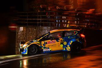 Lorenzo Della Casa, Luca Beltrame (Ford Fiesta WRC #7), CAMPIONATO ITALIANO WRC