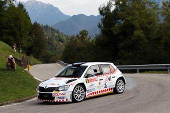 Domenico Erbetta, Matteo Magrin (Skoda Fabia R5 #16, GDA Communication), CAMPIONATO ITALIANO WRC