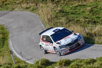 Domenico Erbetta, Matteo Magrin (Ford Fiesta R5 #16, GDA Communication), CAMPIONATO ITALIANO WRC