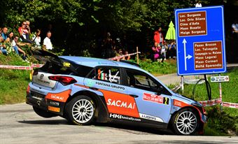 Corrado Fontana, Nicola Arena (Hyundai i20 WRC #2, Bluthunder) , CAMPIONATO ITALIANO WRC