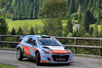 Luigi Fontana, Roberto Mometti (Hyundai i20 WRC #11, Bluthunder), CAMPIONATO ITALIANO WRC