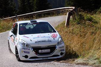 Francesco Gonzo, Denis Piceno (Peugeot 208 R2 #47, Hawk Racing Club), CAMPIONATO ITALIANO WRC