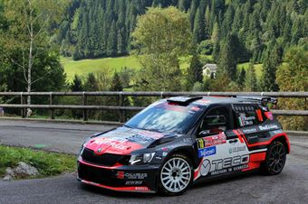 Leopoldo Maestrini, Daniele Michi (Skoda Fabia R5 #18, Scuderia P.S.G Rally), CAMPIONATO ITALIANO WRC