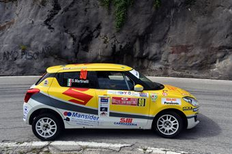 Stefano Martinelli, Sara Baldacci (Suzuki Swift R1 #90, G.R. Motorsport) , CAMPIONATO ITALIANO WRC