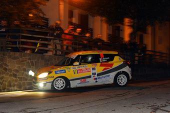 Stefano Martinelli, Sara Baldacci (Suzuki Swift R1 #90, G.R. Motorsport), CAMPIONATO ITALIANO WRC